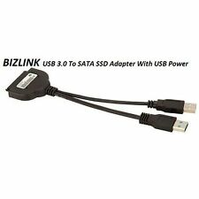 "USB 3.0 to SATA 22 Pin 2.5"" HDD Driver Adapter With USB Power Cable (BIZLINK)"