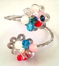 Lovely Fiore di riferimento del Wire Braccialetto/Bracciale/Wrap Braccialetto Valentine
