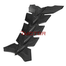3D Black Motorcycle Pattern Gas Tank Protection Pad Sticker Cover For Harley 7M