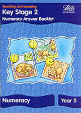Key Stage 2: Numeracy Answer Booklet - Year 5 by Letts Educational...
