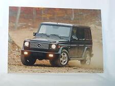 Mercedes-Benz G-Klasse - G 55 AMG von 2003 - Presse-Foto pressfoto (M0053