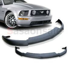 2005-2009 FORD MUSTANG V8 USDM CV-2 Style Front Bumper Lip - PU