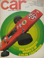 CAR magazine 06/1968 featuring Lotus Elan +2 road test, Simca, Morris traveller