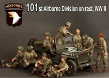 【003】1:35  World War II   the US 101st Airborne Division 9 installed model