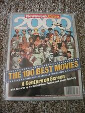 "Newsweek Extra 6/98,""The 100 Best Movies"" ranked by the American Film Industry"