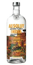 Absolut INDIA VODKA 1 Litre Brand New SEALED 2015 Limited Edition Mango Pepper