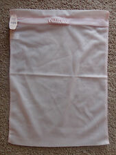 VICTORIA'S SECRET PINK MESH ZIPPERED LINGERIE BAG NEW