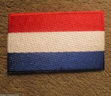 "Netherlands Flag Patch -  2 1/2"" x 1 1/2"""