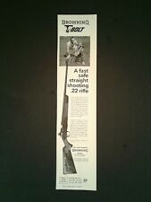 1967 Print AD  Browning T Bolt  Shotgun Gun Rifle Firearms Hunting