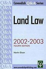 Land Law QAndA (Questions And Answers),GOOD Book
