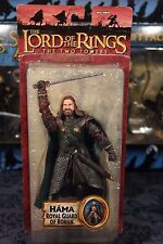 LOTR- HAMA- THE TWO TOWERS- TOYBIZ- THE HOBBIT- ACTION FIGURE- ROYAL GUARD ROHAN