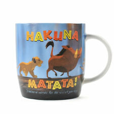 Il RE LEONE-Hakuna Matata Tazza in ceramica Tea Coffee Cup Disney Simba Timon Pumbaa