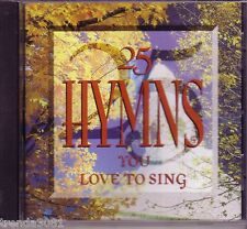 Hymns You Love To Sing CD Classic  Great ROCK OF AGES BLESSED ASSURANCE