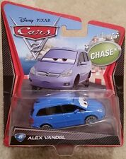 Disney Pixar Cars 2 • CHASE #44 Alex Vandel • 2012 Porto Corsa Straight Card