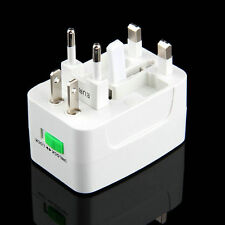 All in One International Travel Power Charger Universal Adapter AU/UK/US/EU Plug