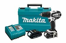 """NEW Makita LXFD01CW 18-Volt Compact Lithium-Ion Cordless 1/2"""" Driver Drill Kit"""