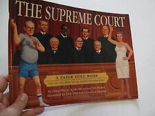 Politics Government Supreme Court Paper Doll Book Clothes Color Illus. Justices