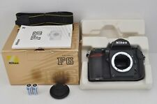 Nikon F6 35mm SLR Film Camera Body with Box EXCELLENT #170228b