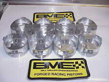 """NEW BME Forged Gas Ported Chevy SB2.2 Pistons 4.128"""" Bore 1.365"""" CH .927 Pin"""