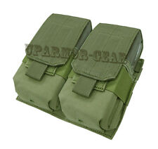 MOLLE 7.62 NATO 308 Rifle Double Mag Pouch close flap OD Green (CONDOR 191089)