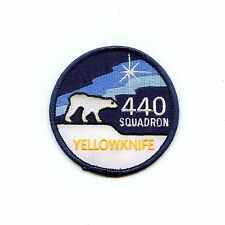 RCAF CAF Canadian 440 Yellowknife Squadron Colour Crest Patch