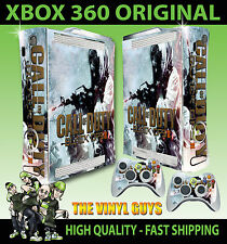 XBOX 360 BLACK OPS II WINTER CALL OF DUTY CONSOLE STICKER SKIN NEW & 2 PAD SKINS