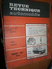 Peugeot 204 Diesel Moteur Indénor : revue tech RTA 298