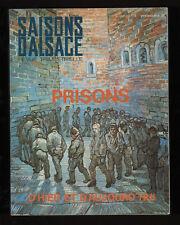 █ Saisons d'Alsace n°103 PRISONS, d'Hier et Aujourd'hui █