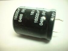 15000uf 16v 85 degree Snap Mount Electrolytic Capacitor 25mm x 31mm