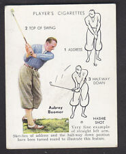 John Player - Golf 1939 (Overseas) - # 4 Mashie Shot