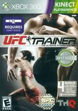 UFC Personal Trainer: The Ultimate Fitness System (XBOX 360, Kinect, THQ) - New