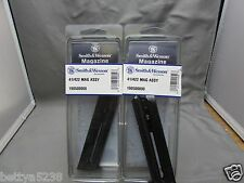 TWO Smith & Wesson S&W Magazine 41 422 622 2206 22lr 22 10 Rd 19050 Mag MODEL 41
