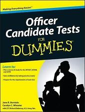 Officer Candidate Tests For Dummies-ExLibrary