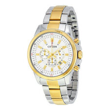 Citizen Chronograph White Dial Mens Watch AN8087-51A