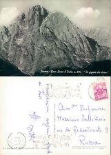 """TERAMO - GRAN SASSO D'ITALIA - """"IL GIGANTE CHE DORME""""          (rif.fg.4296)"""