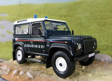 Land Rover Defender TD5 90 Carabinieri 1:43 Scale Diecast Detailed Model