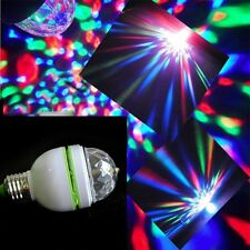 3W RGB LED Color Rotating Lamp Disco Party Bar Club Effect Stage Light Lighting
