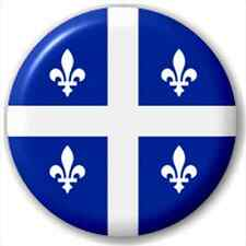 Quebec - Canada Province Flag 25Mm Pin Button Badge Lapel Pin
