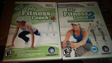 My Fitness Coach 1 and 2 for the Nintendo Wii exercise workout