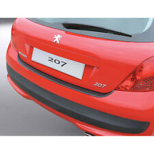RGM Black Rear Bumper Guard For Peugeot 207 2006 - 2012