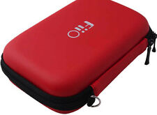 FiiO HS7. Dual-Layer Hard Carrying Case - Red. Universal MP3 Accessories