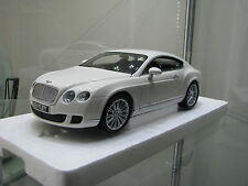1/18 Minichamps 2008 Bentley Continental GT WHITE 100139621