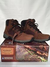 "New C.E. Schmidt 6"" Hikers Waterproof Construction Mens Size 10 Leather Boots"