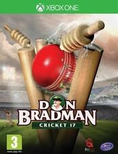 BRAND NEW SEALED DON BRADMAN CRICKET 17 DBC 17 XBOX ONE GAME