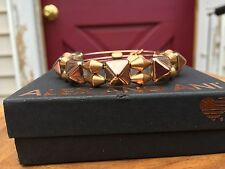 BOX CARD ALEX And ANI VINTAGE 66 INDIE SPIRIT COPPER IMPULSE Gold BEADED Bangle