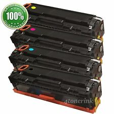 4pk Toner Cartridge For HP Laserjet CF210A 131A Pro 200 Color MFP M276nw M251nw