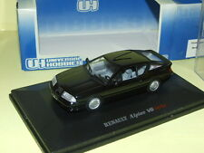 RENAULT ALPINE V6 TURBO NOIR UNIVERSAL HOBBIES