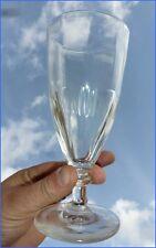 Ancien Verre à Absinthe Absinth Glass 1900 Verre Ciselé taillé