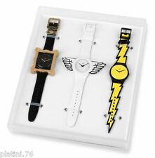 Swatch - SET LIMITED - SUOZS02 - 2011 - JEREMY SCOTT NEW IN BOX VERY RARE UNIQUE