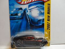 2007 Hot Wheels #4 Black '69 Ford Mustang w/OH5 Wheels